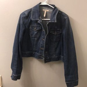 Old Navy Maternity Jean Jacket size medium